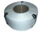 Лента полипропиленовая 8 х 0.55 мм –4,5 км (белая) 200 мм