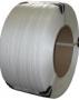 Лента полипропиленовая 12 х 0,8 мм -    2,4 км (белая) ? 200мм д
