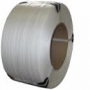 Лента полипропиленовая 16 х 0.6 мм –   2,0 км (белая) ? 200мм дл