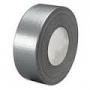 Лента клейкая армированная 50 х 50 м (тк) silver Duct tape